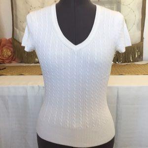 Gap stretch v neck sweater